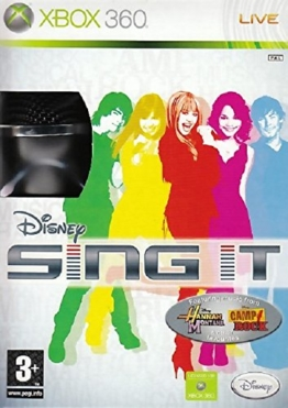 Disney Sing It with Microphone (Xbox 360) - 1