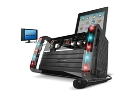EKS213 CDG Karaoke Player With LED Lighting Effect and Tablet Cradle - 1