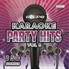 Karaoke Party Hits Vol 8 CDG CD+G Disc Set - 150 Songs on 8 Discs Including The Best Ever Karaoke Tracks Of All Time (Calvin Harris ,Miley Cyrus, Meghan Trainor, Rita Ora, One Direction & much more - 1