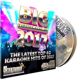Mr Entertainer Big Karaoke Hits of 2017 - Double CD+G (CDG) Pack. 40 Top Songs - 1