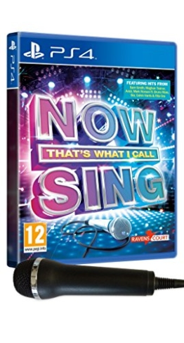 Now That's What I Call Sing: Microphone Pack (PS4) - 1