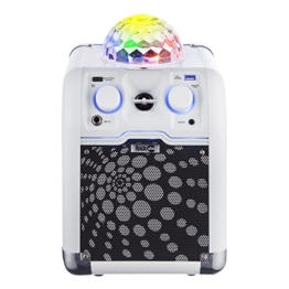 "RockJam RJRC01-WE ""RockCube"" Karaoke - White - 1"