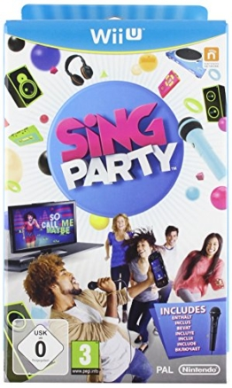 SiNG PARTY with Wii U Wired Microphone - 1