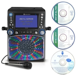 Singing Machine STVG785BT Karaoke Machine with Bluetooth - Black - 1