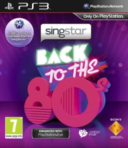 SingStar: Back to the 80s - PlayStation Eye Enhanced (PS3) - 1