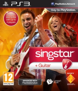 SingStar Guitar - PlayStation Eye Enhanced (PS3) - 1