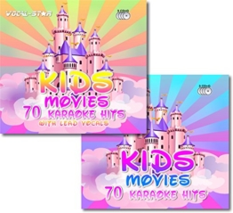 Vocal-Star Kids Movies Karaoke Disc set 6 CDG CD+G Discs Including 140 Songs ( 70 With Lead Vocals ) From Popular Disney Films - 1