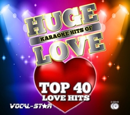 Vocal-Star Love Songs Karaoke CDG CD+G Disc Set 40 Songs - 2 Discs - 1