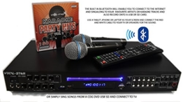 Vocal-Star VS-1200 CDG DVD HD Karaoke Machine With 2 Microphones and Top Party Songs - 1