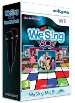 We Sing 80's Incl 2 Microphones (Nintendo Wii) - 1