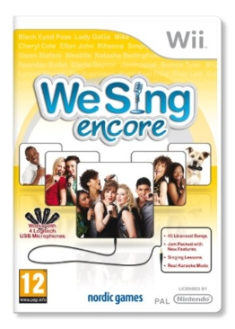 We Sing Encore (Wii) - 1