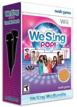 We Sing Pop with 2 Mics Included (Nintendo Wii) - 1