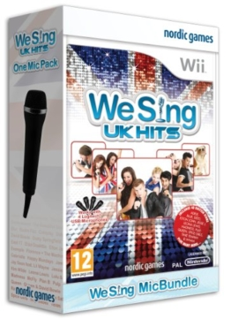 We Sing UK Hits Plus One Mic (Nintendo Wii) - 1