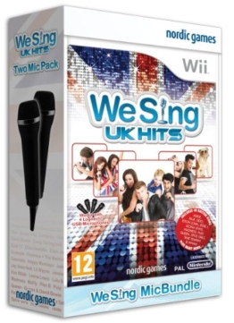 We Sing: UK Hits with Twin Mic Bundle (Wii) - 1