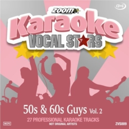 Zoom Karaoke CD+G - 50s & 60s Guys - Vol. 2 - Vocal Stars Karaoke Series ZVS009 - 1