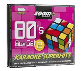 Zoom Karaoke CD+G - 80s Superhits 2 - Triple CD+G Karaoke Pack - 1