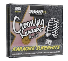 Zoom Karaoke CD+G - Crooning Superhits - Triple CD+G Karaoke Pack - 1