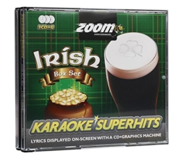Zoom Karaoke CD+G - Irish Superhits - Triple CD+G Karaoke Pack - 1